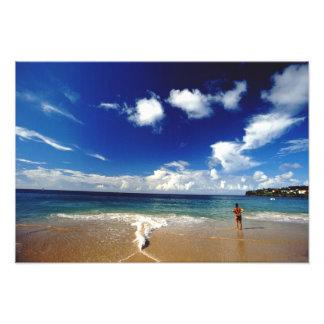 Caribbean, Lesser Antilles, West Indies, 2 Photo Print