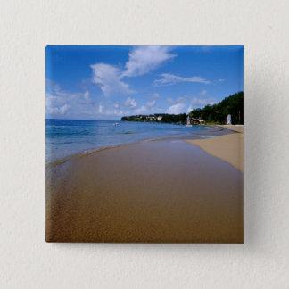 Caribbean, Lesser Antilles, West Indies, 3 15 Cm Square Badge