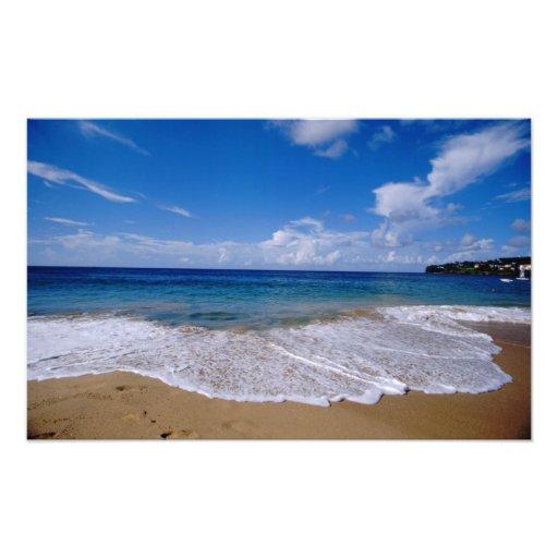 Caribbean, Lesser Antilles, West Indies, 4 Photo Art