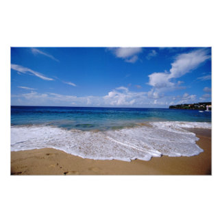 Caribbean, Lesser Antilles, West Indies, 4 Photo Print