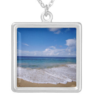 Caribbean, Lesser Antilles, West Indies, 4 Silver Plated Necklace