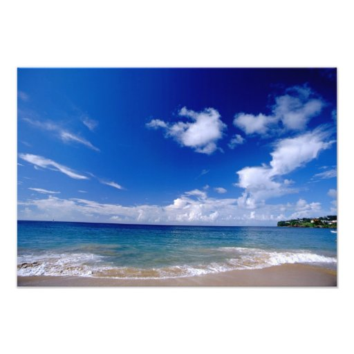Caribbean, Lesser Antilles, West Indies, Photo Print