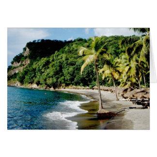 Caribbean, Lesser Antilles, West Indies, Saint Card