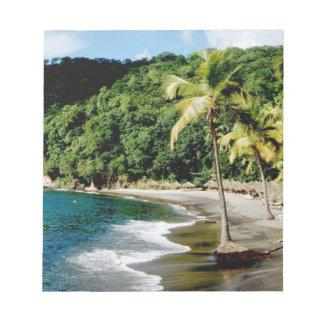 Caribbean, Lesser Antilles, West Indies, Saint Notepad