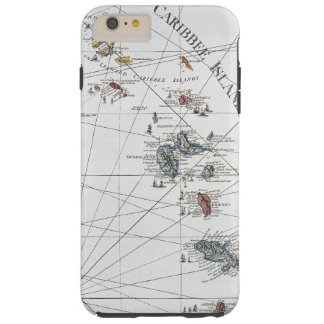 CARIBBEAN: MAP, 1775 TOUGH iPhone 6 PLUS CASE