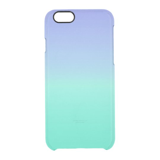 Caribbean Ocean Blue Ombre Watercolor Pastel Case
