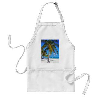 Caribbean palm tree standard apron