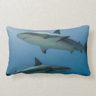 Caribbean Reef Shark Lumbar Cushion
