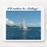 Caribbean Sailboat, I'd rather be sailing!
