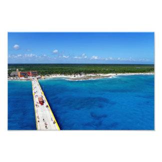 Caribbean Sapphire Photographic Print