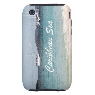 Caribbean Sea Tough iPhone 3 Case