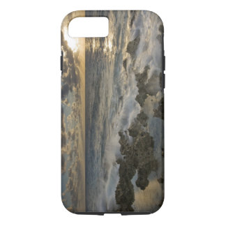 Caribbean Sea, Cayman Islands.  Crashing waves 2 iPhone 8/7 Case