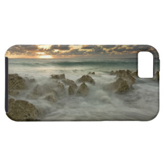 Caribbean Sea, Cayman Islands.  Crashing waves 3 iPhone 5 Cover
