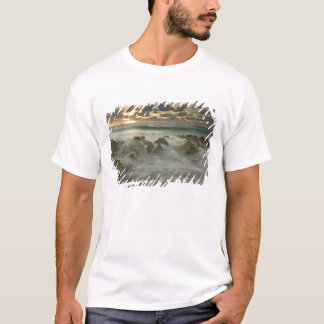 Caribbean Sea, Cayman Islands.  Crashing waves 3 T-Shirt