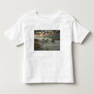 Caribbean Sea, Cayman Islands.  Crashing waves 3 Toddler T-Shirt