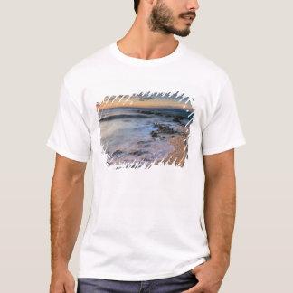 Caribbean Sea, Cayman Islands. Crashing waves T-Shirt