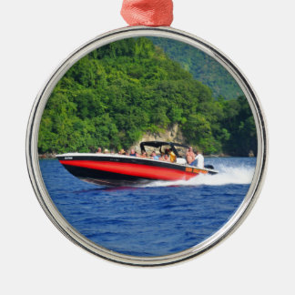 Caribbean sea christmas ornament