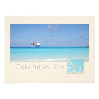 Caribbean Sea Photographic Print