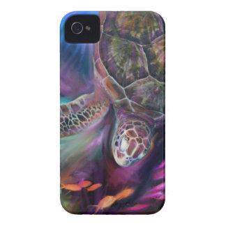 Caribbean Sea Turtles Case-Mate iPhone 4 Cases