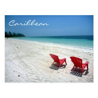 caribbean seats postcard