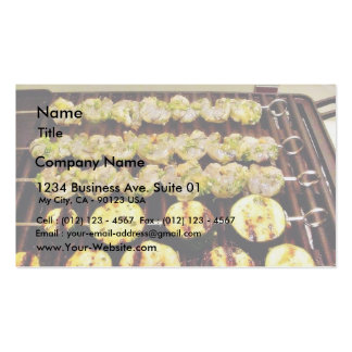 Caribbean Shrimp Marinaded In Orange Juice And Chi Double-Sided Standard Business Cards (Pack Of 100)