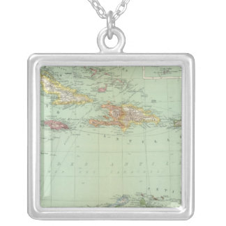 Caribbean Silver Plated Necklace