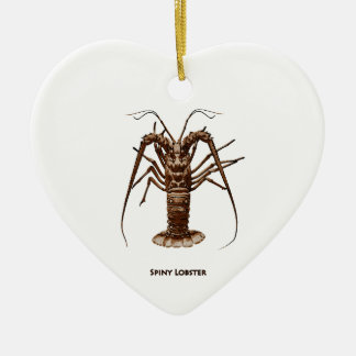 Caribbean Spiny Lobster Ornaments