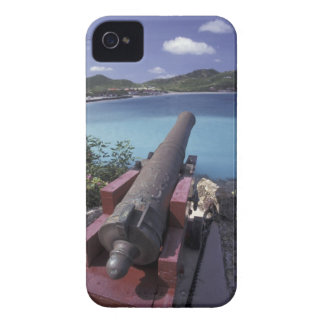CARIBBEAN, St. Barts, Connon aiming into Bay of Case-Mate iPhone 4 Cases
