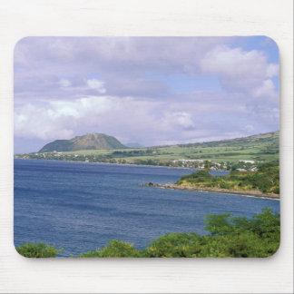Caribbean, St. Kitts, Roseau. Coast. Mouse Mat