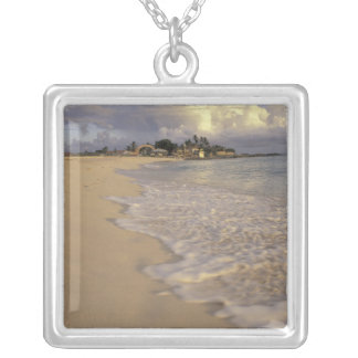 Caribbean, St. Martin (St. Maarten). Maho Bay Silver Plated Necklace