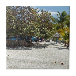 caribbean summer tile