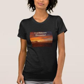 Caribbean Sunset, Dreams! T-Shirt