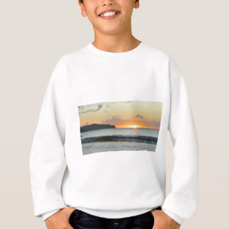 Caribbean sunset sweatshirt