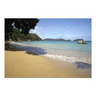 Caribbean - Tobago - Beach along Atlantic Photographic Print