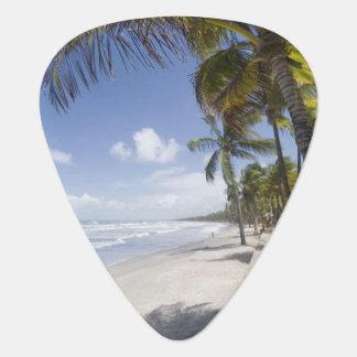 Caribbean - Trinidad - Manzanilla Beach on Guitar Pick