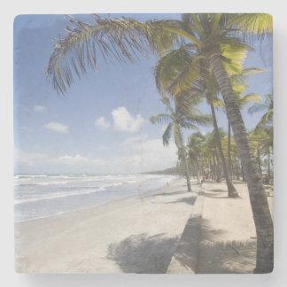 Caribbean - Trinidad - Manzanilla Beach on Stone Coaster