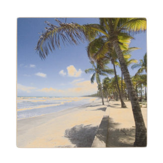 Caribbean - Trinidad - Manzanilla Beach on Wood Coaster
