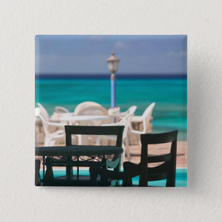 Caribbean, TURKS & CAICOS, Grand Turk Island, 15 Cm Square Badge