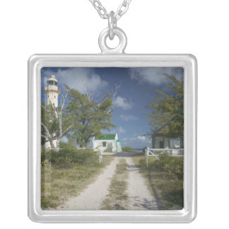 Caribbean, TURKS & CAICOS, Grand Turk Island, 3 Silver Plated Necklace