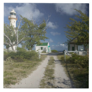 Caribbean, TURKS & CAICOS, Grand Turk Island, 3 Large Square Tile