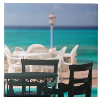 Caribbean, TURKS & CAICOS, Grand Turk Island, Large Square Tile