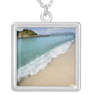 Caribbean, U.S. Virgin Islands, St. John, Silver Plated Necklace