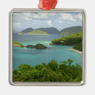 Caribbean, U.S. Virgin Islands, St. John, Trunk 2 Christmas Ornament