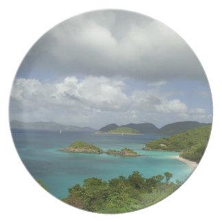 Caribbean, U.S. Virgin Islands, St. John, Trunk 3 Plate