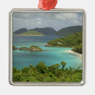 Caribbean, U.S. Virgin Islands, St. John, Trunk Christmas Ornament