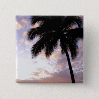 Caribbean, U.S. Virgin Islands, St.Thomas, 3 15 Cm Square Badge