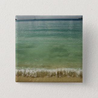 Caribbean, U.S. Virgin Islands, St.Thomas, 4 15 Cm Square Badge