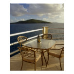 Caribbean, U.S. Virgin Islands, St. Thomas. View Poster