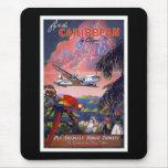 Caribbean vintage mousepad