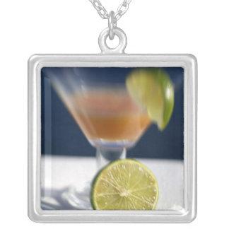 Caribbean, Virgin Islands. Tropical rum punch, Custom Necklace